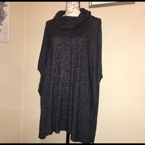 7 ForAll Mankind Cowl Neck Batwing Jersey Sweater